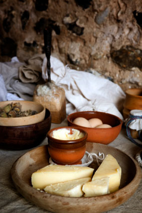 Food common in medieval England