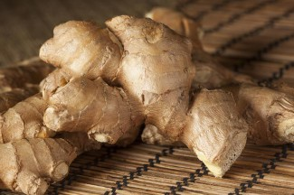 Ginger used in medieval cakes
