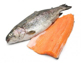 Trout with trout fillet