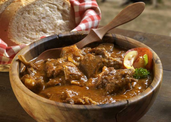 Beef Stew With Red Wine, Honey, Almonds, Spices